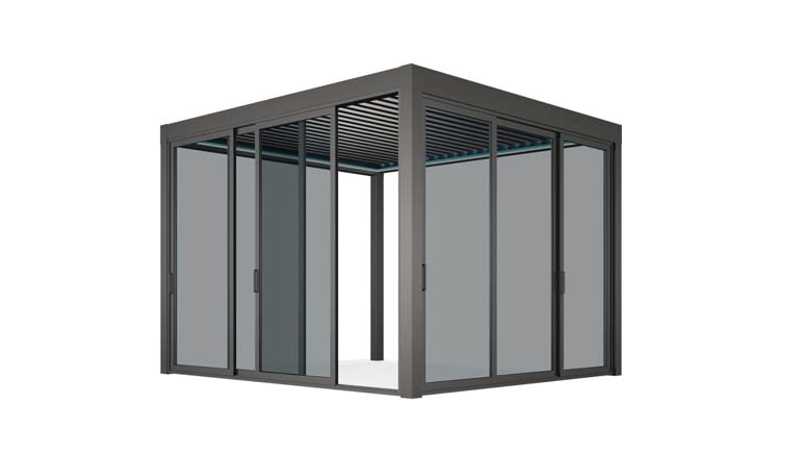 JS Window - Bi-folding door Project 折疊式或滑動式玻璃門窗