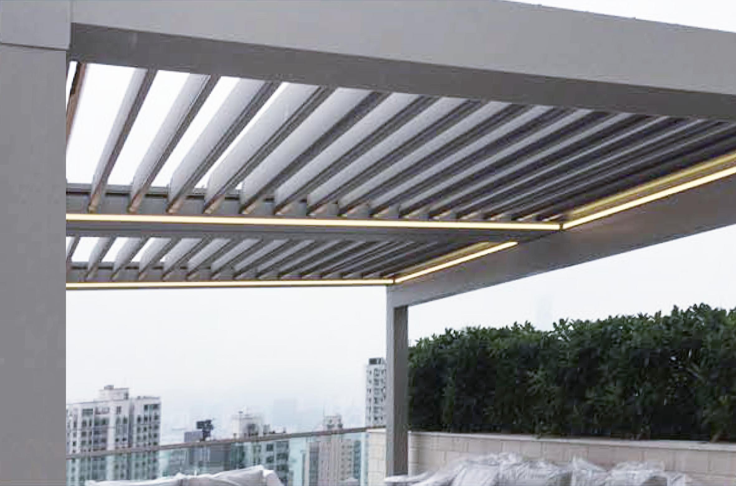JS Window - Aerolux by Suntech – Cluny Park The modern pergola 露天空間的現代化涼棚