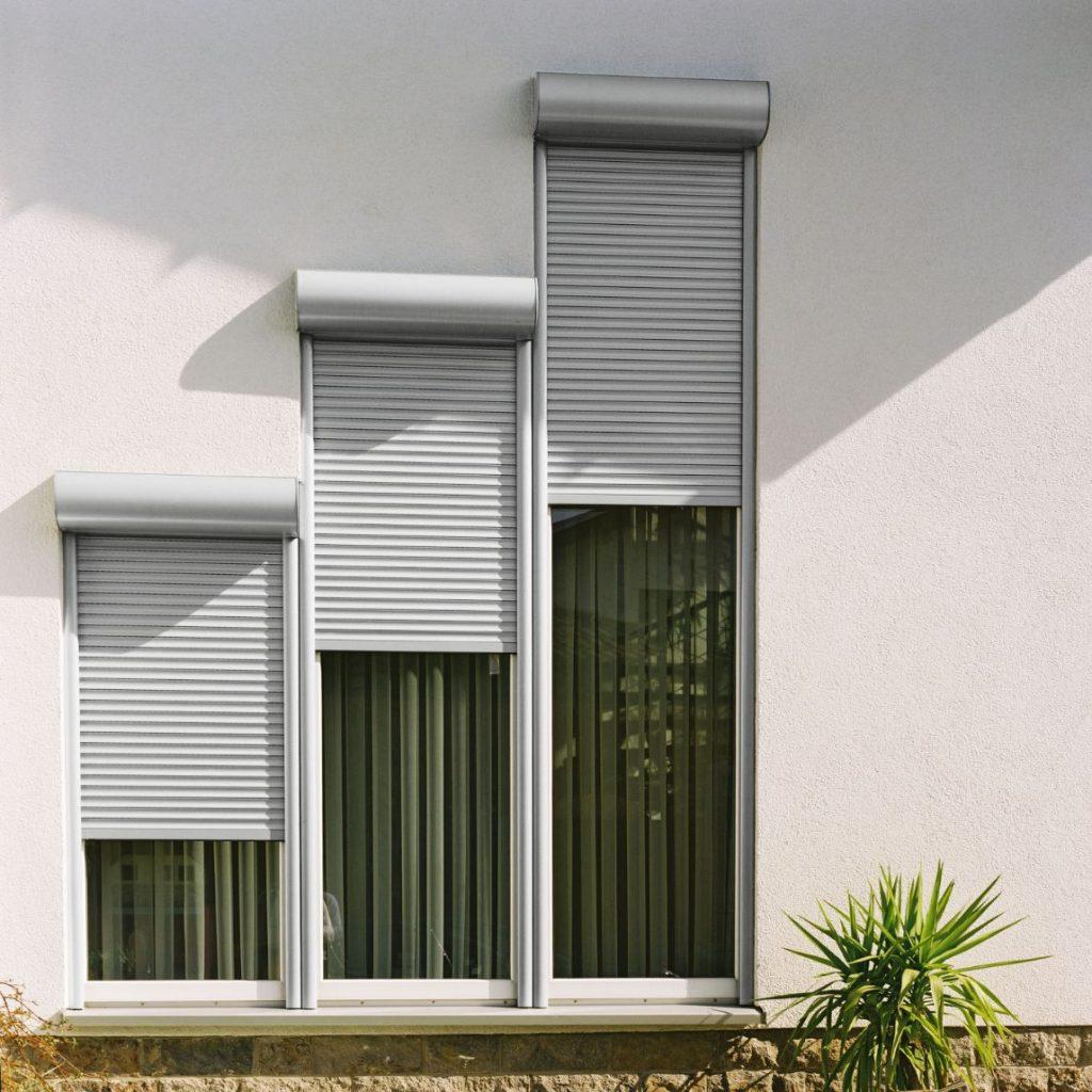 JS - Aluminium Windows in Hong Kong 香港優質鋁窗公司 - Windproof Rolling Shutter 防風捲閘