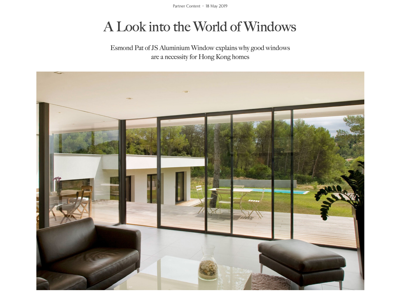 JS - Aluminium Windows in Hong Kong 高級歐洲鋁窗代理 - coverage