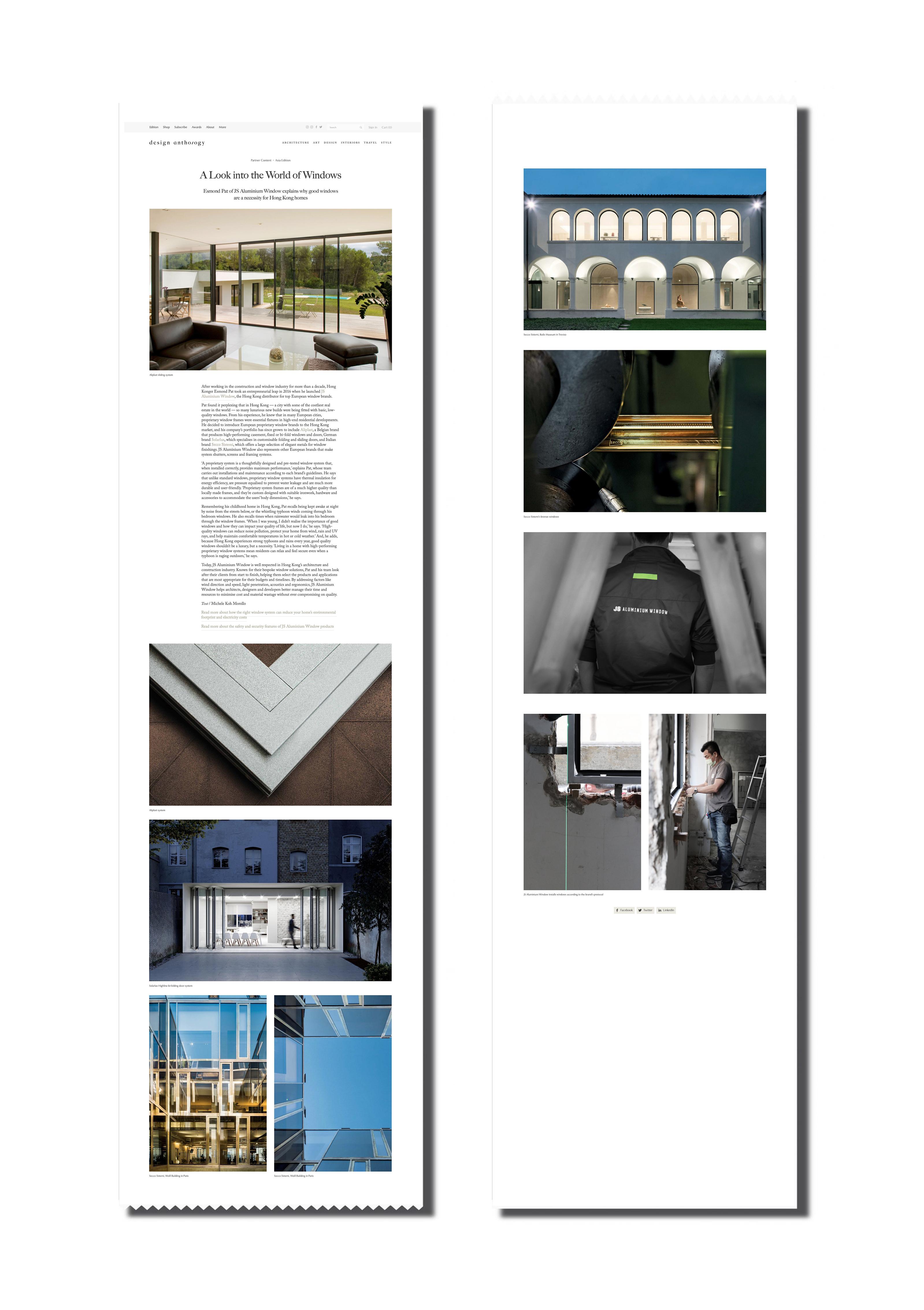 JS - Aluminium Windows in Hong Kong 高級歐洲鋁窗代理 -優質防風窗戶