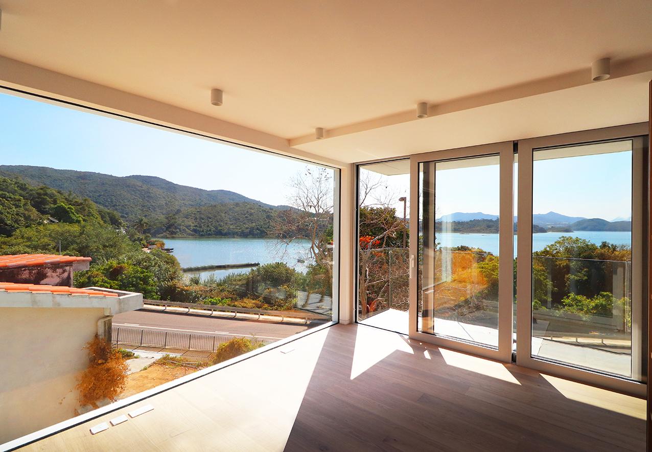 怡星鋁窗(JS Window)西貢項目-訂制鋁窗-玻璃趟門-蚊網-Aliplast-PhantomScreen