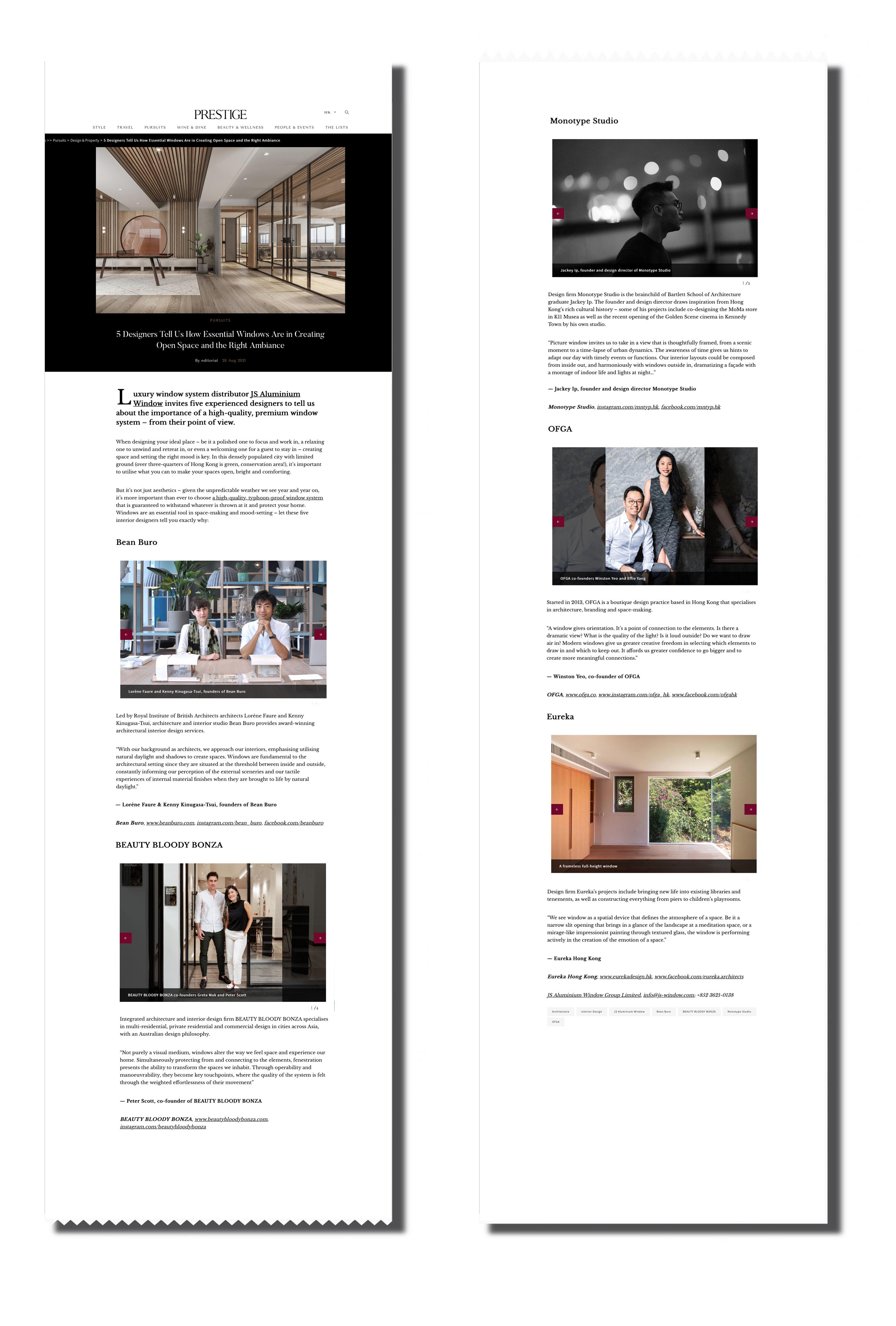 JSWindow-on-Prestige-Magazine-Designer-talks-about-premium-european-windows